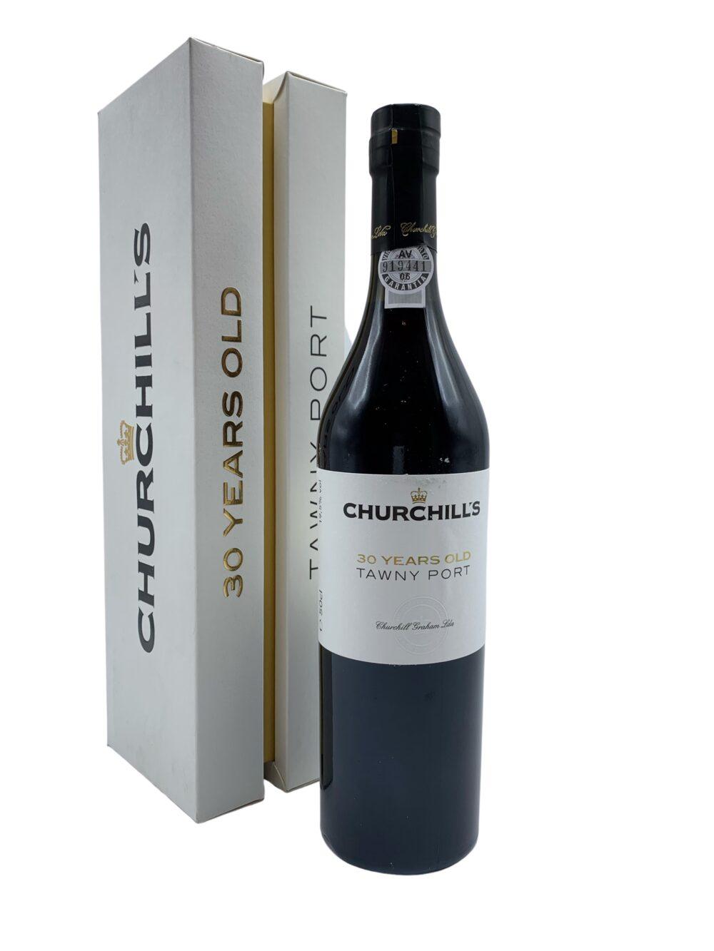 Porto Churchills 30Y packaging