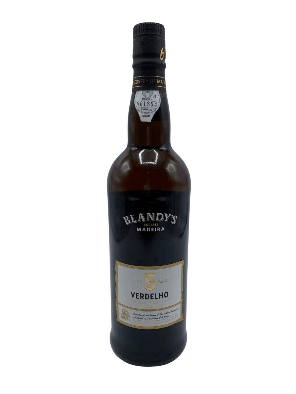 Madeira Blandy's Verdelho 5Y